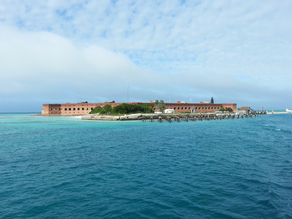 Samuel Mudd's prison at Fort Jefferson, Dry Tortugas