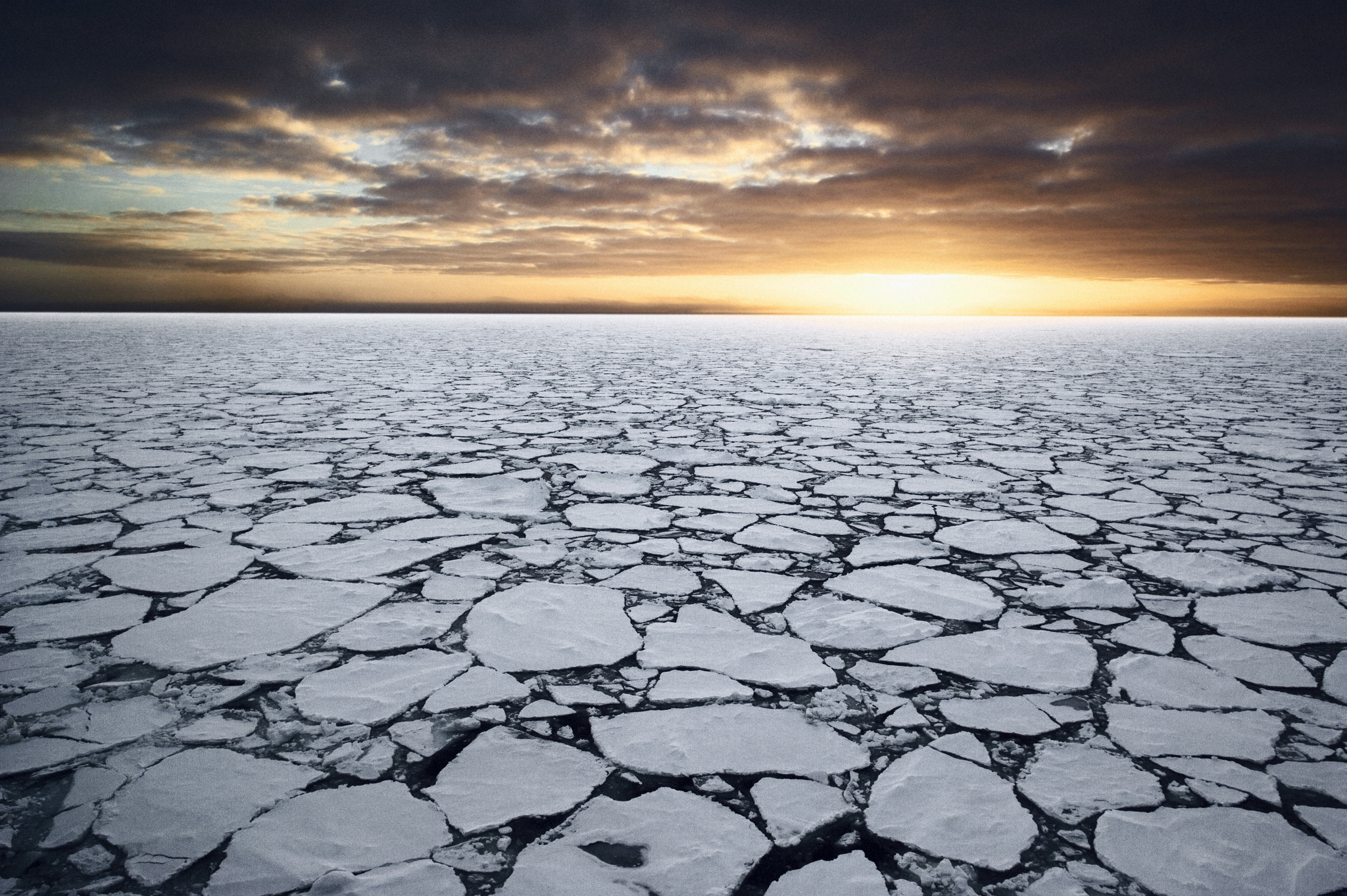 Ice in the Ross Sea, Antarctica